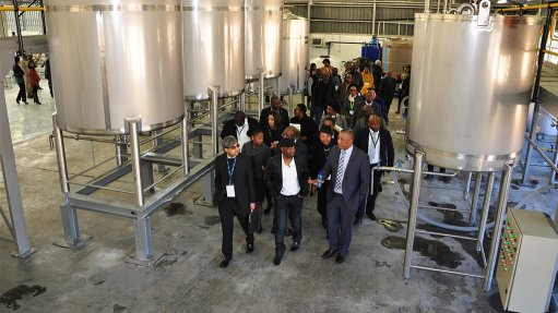 Chemicals factory to support value chain opened  in Maluti-a-Phofong SEZ
