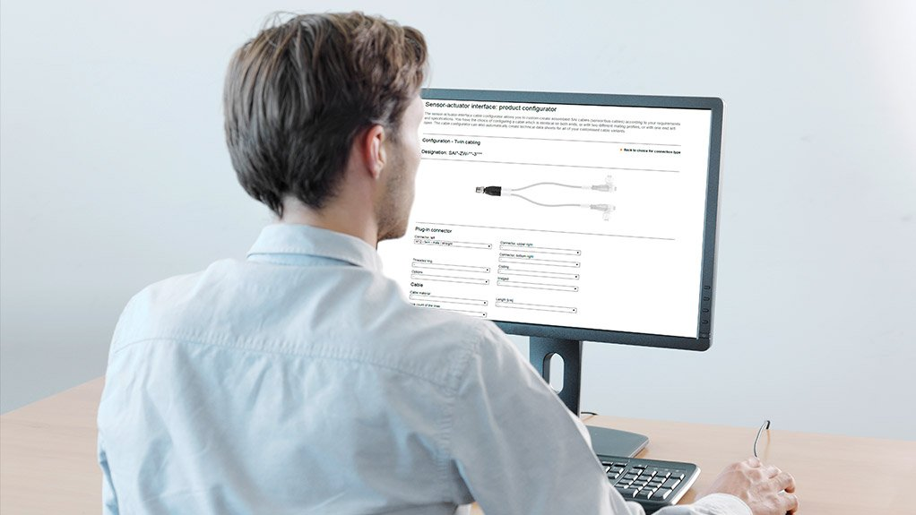 ONLINE CONFIGURATOR Weidmüller's customised connecting lines can be planned precisely using an online configurator