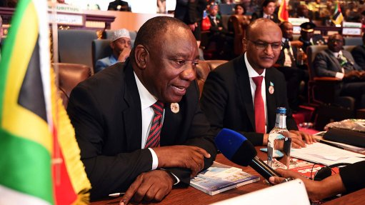 Ramaphosa tells AU summit 'money lost to corruption could finance improved lives'
