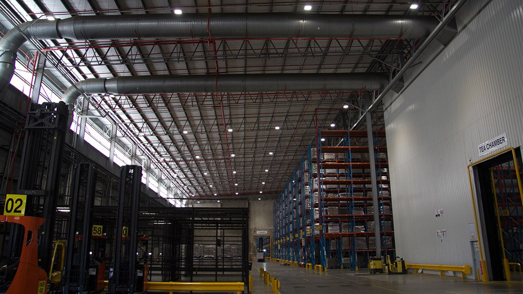 IT IS LIT  Magnet undertook the redesign, supply and installation of a new lighting system for Unilever's distribution centre to reduce energy consumption