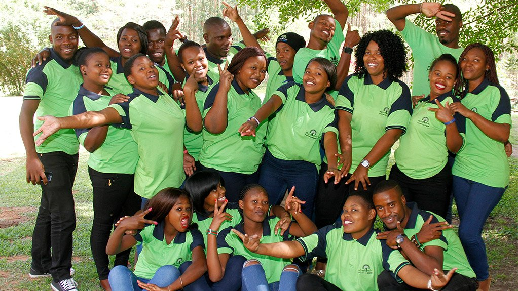 GROWING THE FUTURE  Sappi Southern Africa's Abashintshi programme encourages young people to mobilise their communities to take an active role in their future