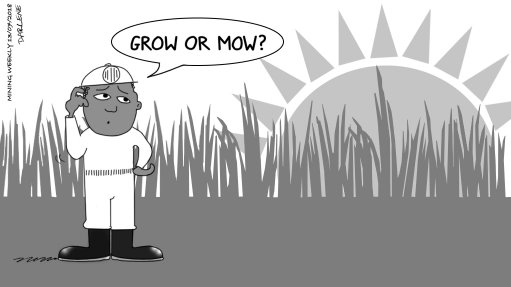 GROW OR MOW: