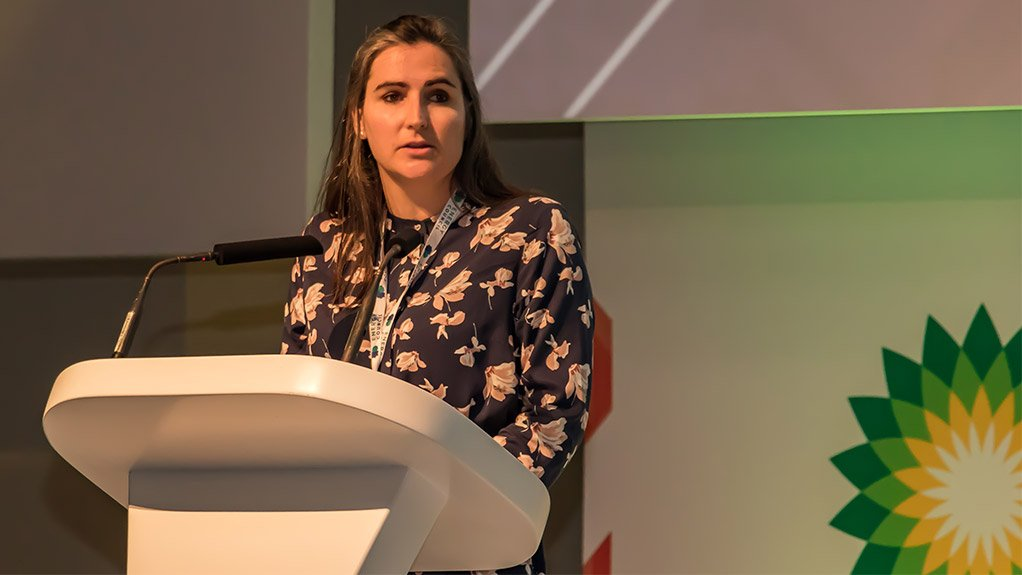 PIPPA BROWN Energy Council Africa director speaking at the Energy Council event in May