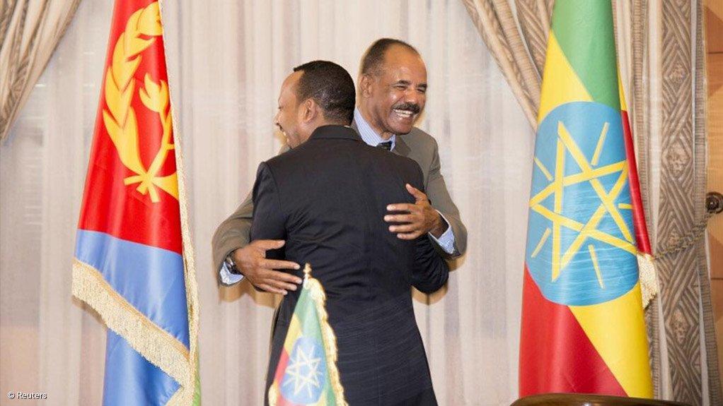 Ethiopian Prime Minister Abiy Ahmed & Eritrean President Isaias Afwerki