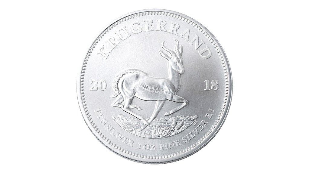 The 1 oz silver Krugerrand