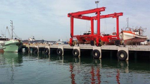 New PE vessel repair slipway boosts local economy