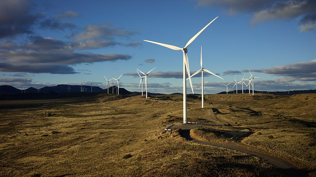 The Noblesfontein Wind Farm