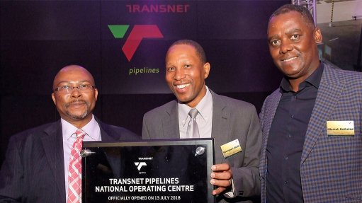 Transnet Pipelines unveils new national operating centre