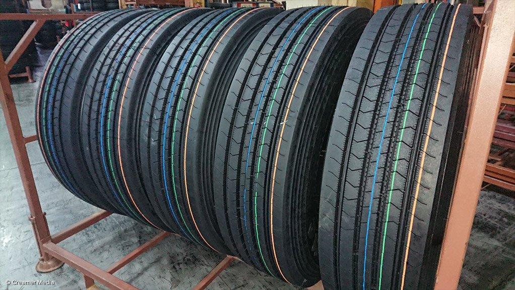 Bridgestone manufacturing plant, in Brits