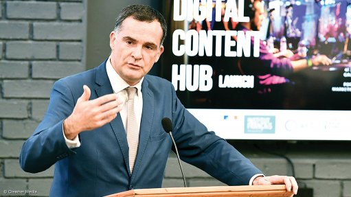 French backing for Joburg digital content hub