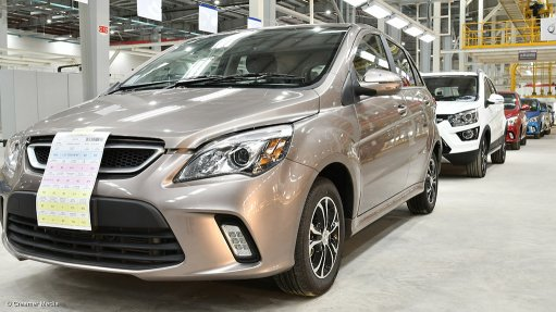BAIC SA opens vehicle assembly plant at Coega IDZ