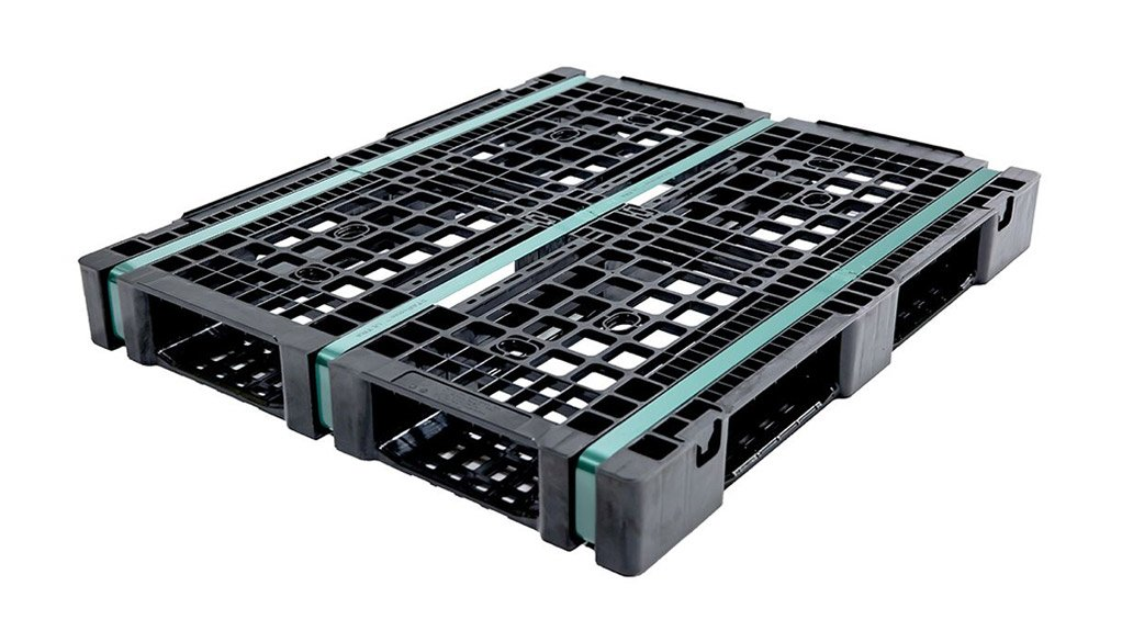 NEW PRODUCT The plastic pallets were manufactured in South Africa SOURCE