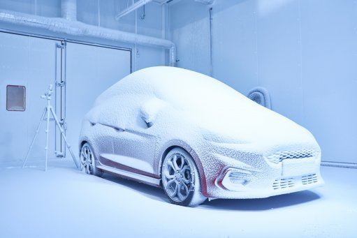 Ford vehicles face extreme conditions in new €70m weather factory