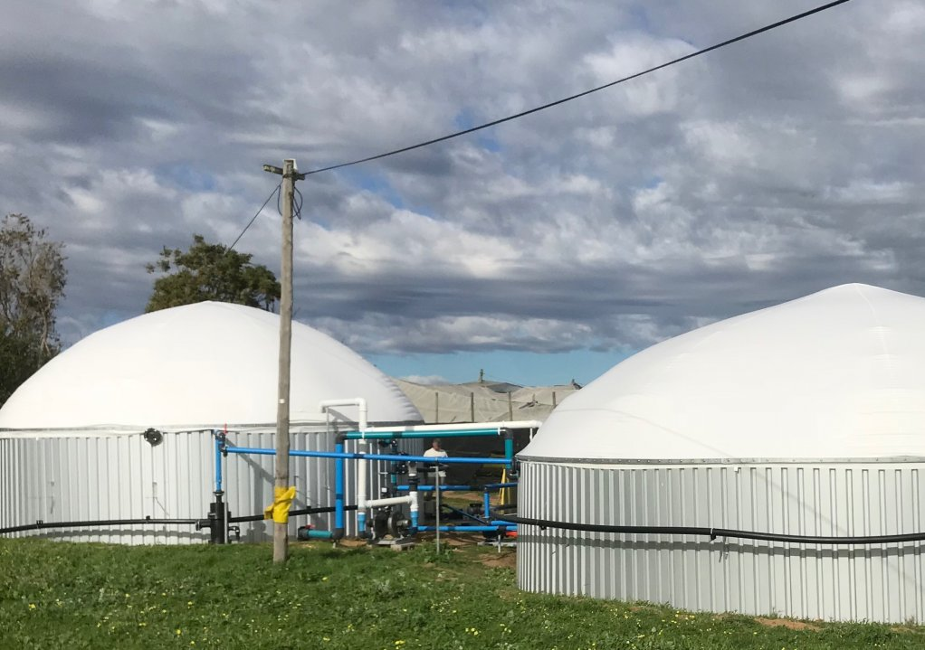 BIOGAS DEMO PLANT Global Energy expects its biogas demonstration plant to be open for viewing by prospective clients by the end of this month.