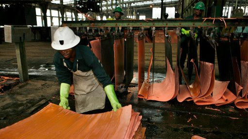 Zambia's refined copper outlook positive