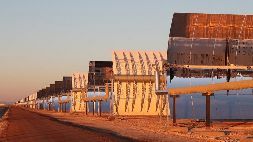 SENERtrough-2 system at Kathu Solar Park's concentrated solar power plant
