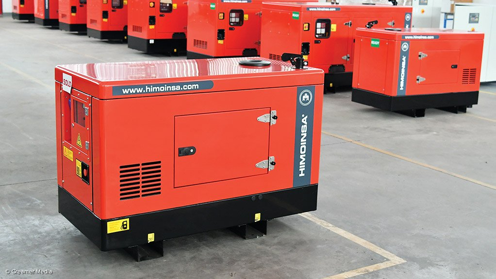 POWERING-UP  Himoinsa Southern Africa offers quick and uninterrupted back-up power