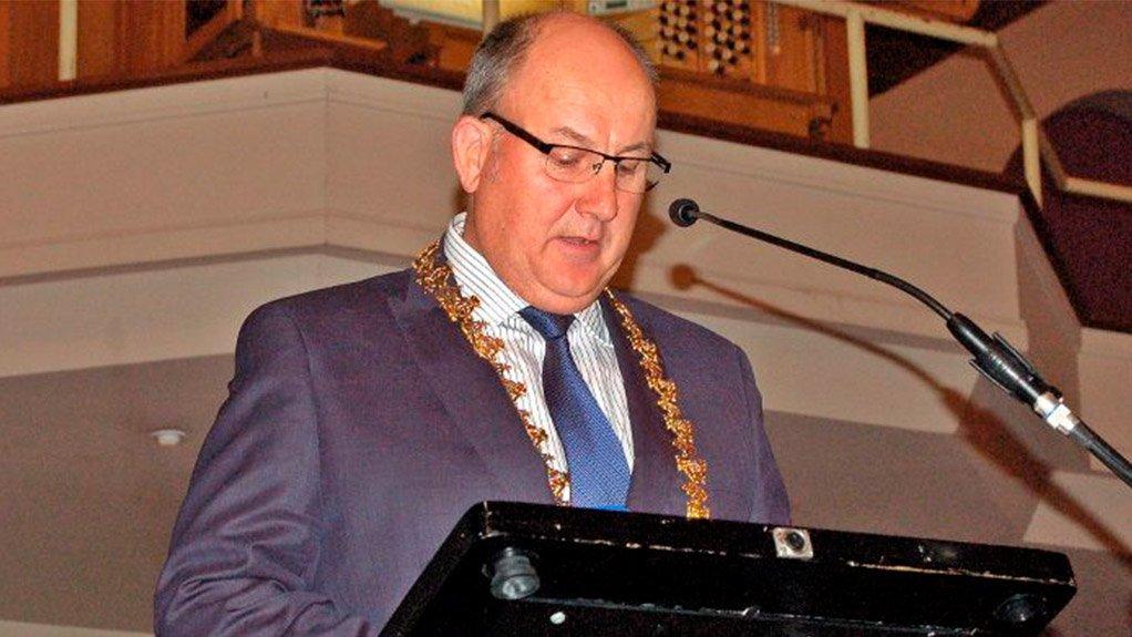 Nelson Mandela Bay Mayor Athol Trollip