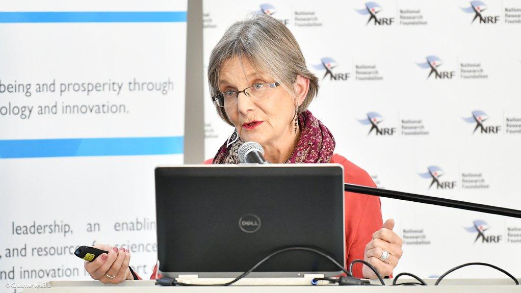 University of the Western Cape professor Catherina Schenk