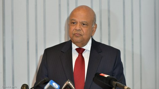 Gordhan announces whistleblower hotline to boost fight against corruption