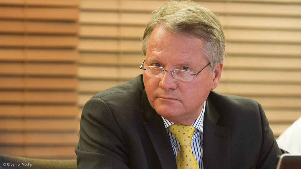 AngloGold Ashanti South Africa region COO Chris Sheppard