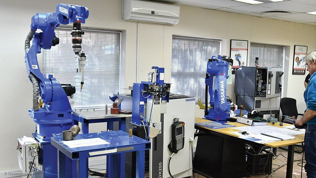 SKILLS DEVELOPMENT Yaskawa Southern Africa will train the Southern African Institute of Welding's trainers, who, in turn, will train people in robot welding