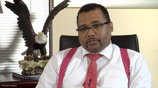 SSC CEO Fred Arendse