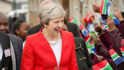 Britain supports South African land reform – PM May