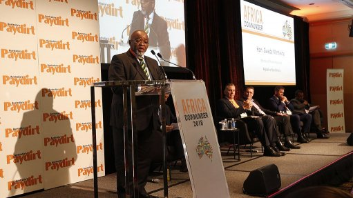 South Africa's Mantashe promises policy certainty by Nov
