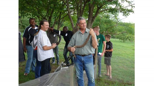 Snake courses offered  to mine developments  in Africa