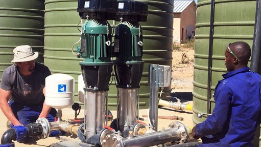 Putting pressure  on pumping costs