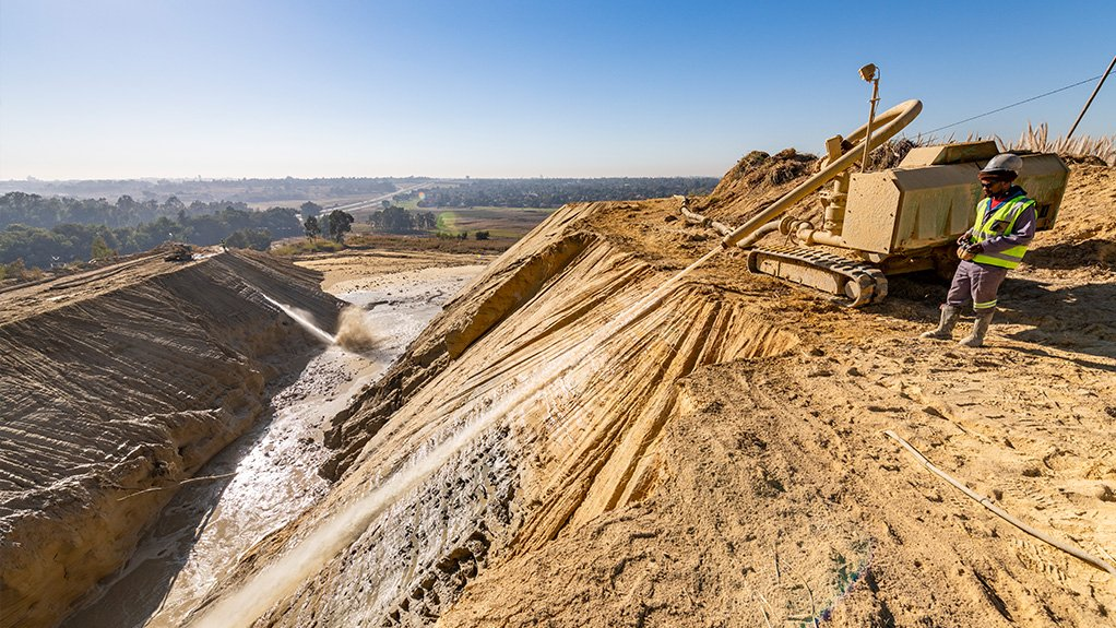 DRDGold expecting rapid gold output from West Rand tailings