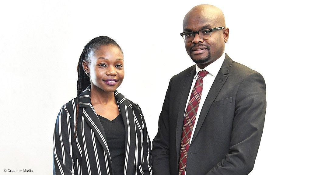 LEBO MATHEBULA AND FARAI CHABATA  Gridbow managers lead the way for electrification