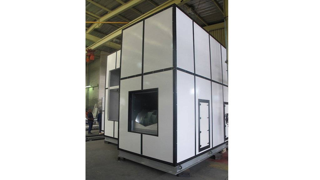 BETTER QUALITY FOR LESS  TROX's XeCube air handling unit provides a high level of structural integrity, is impervious to corrosion and is significantly cheaper than the company's previous AHUs