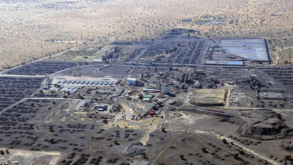 Black Rock Manganese Mine in Northern Cape.