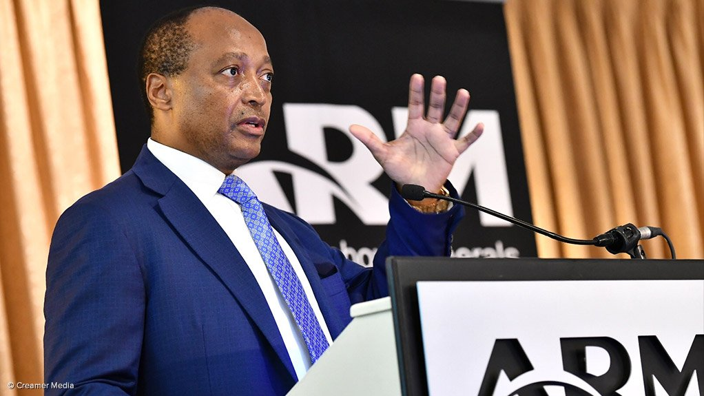 African Rainbow Minerals executive chairperson Patrice Motsepe.
