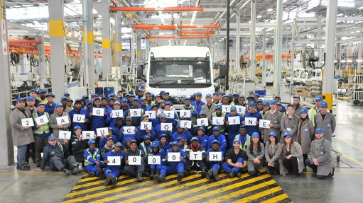 FAW's Coega plant produces 4 000th truck