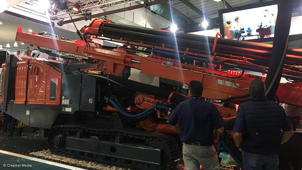 Sandvik launches Leopard DI650i drill rig