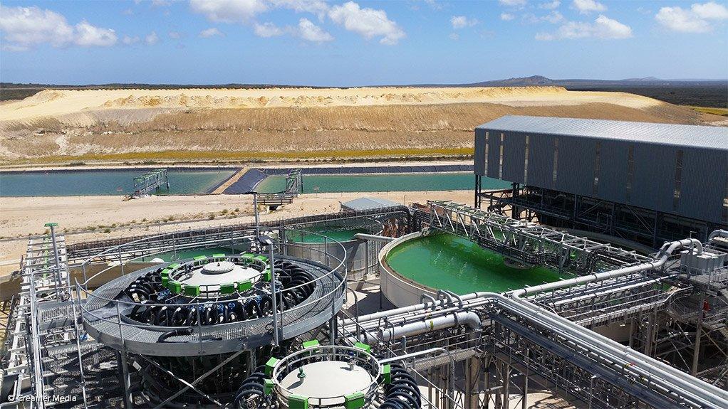 Elandsfontein phosphate mine