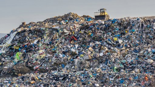 JAM-PACKED JUNK Once filled to capacity, landfills must be closed and decommissioned