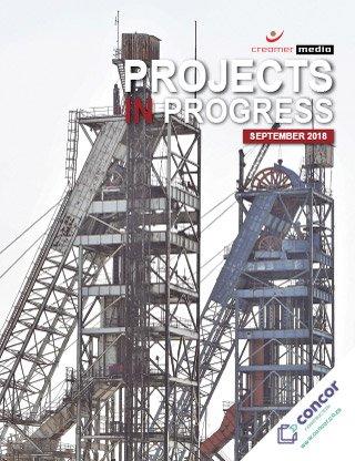 Projects in Progress - September 2018