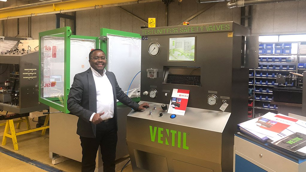 MOEKETSI MPOTU Brimis Engineering has the technical capability to repair, test and certify critical application safety valves in line with the Pressure Equipment Regulations