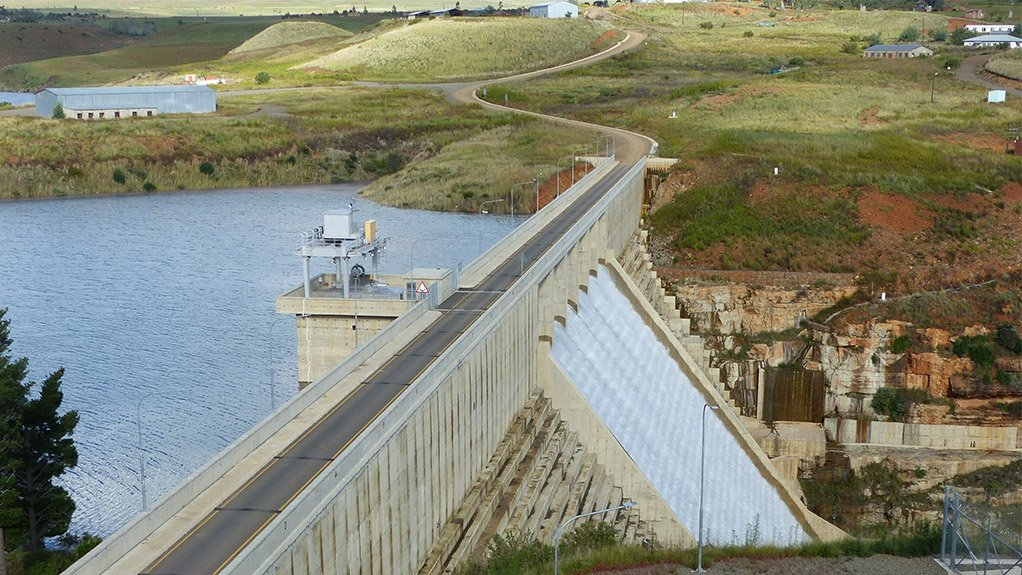 MILESTONE Metolong dam in Lesotho reaches spilling stage for the first time since its completion in 2016