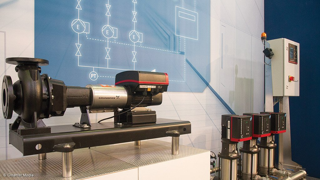 OPTIMISATION Grundfos energy efficient pumps can save up to 50% of energy