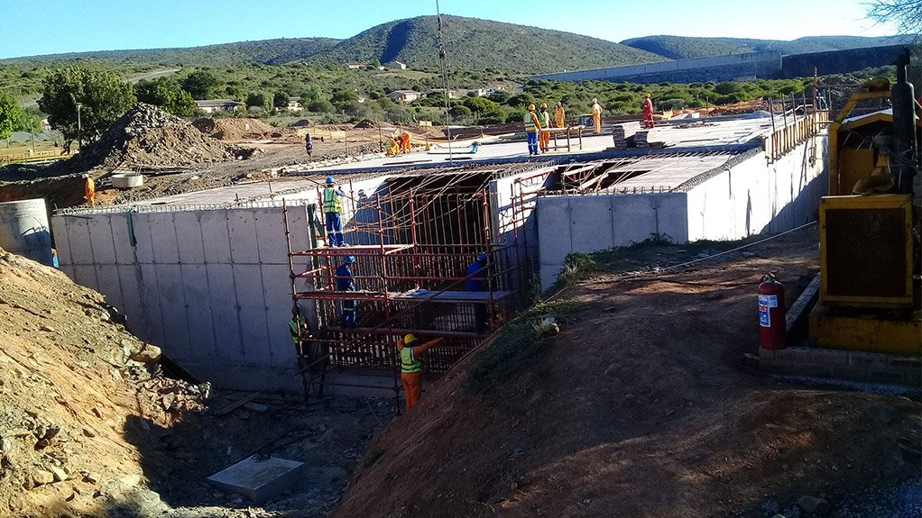 PROGRESSING Phase 1 of the design and implementation for the augmentation of the James Kleynhans Bulk Water Supply project in Makhanda is due for completion in December