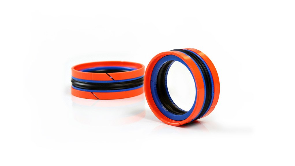 HALLITE TYPE 780 These double acting piston seals offer reduced wear resistance and extended service life on any hydraulic cylinder application