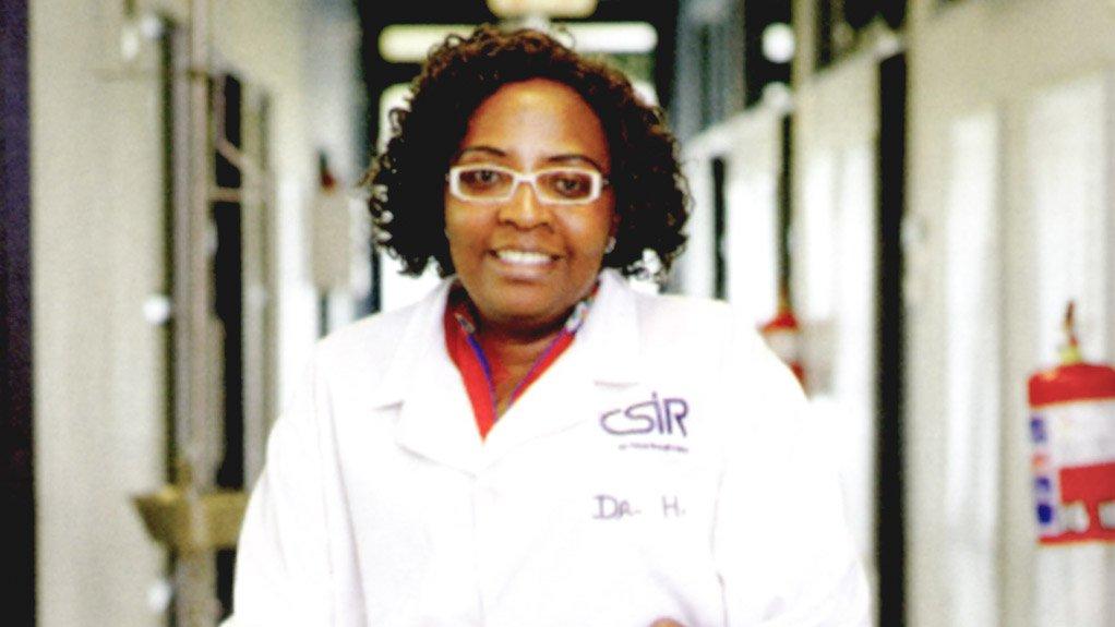 CSIR principal researcher and research leader Dr Henrietta Langmi