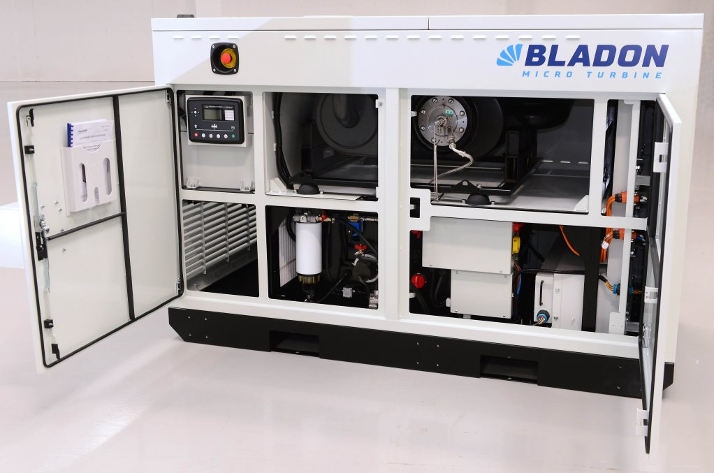 Bladon's new microturbine genset to power up telecoms towers
