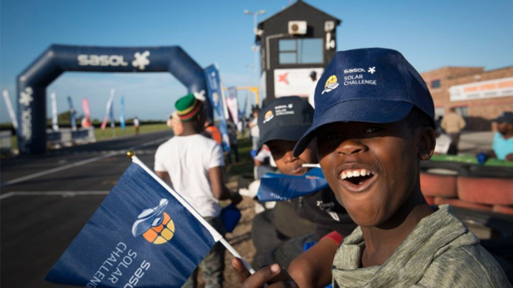 INSPIRING STUDENTS The Sasol Solar Challenge aims to inspire students to take up science, technology, engineering and mathematics subjects