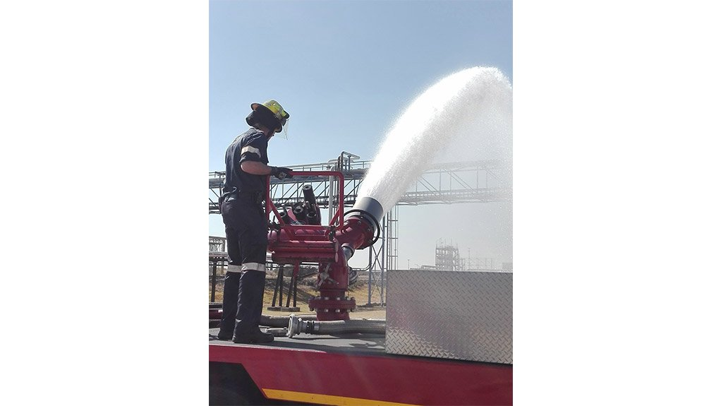 FUTURE FIRE PROJECTION  FireDos will offer the local market water-driven fire protection foam dosing systems with a maximum flow rate of 25 000 ℓ/min